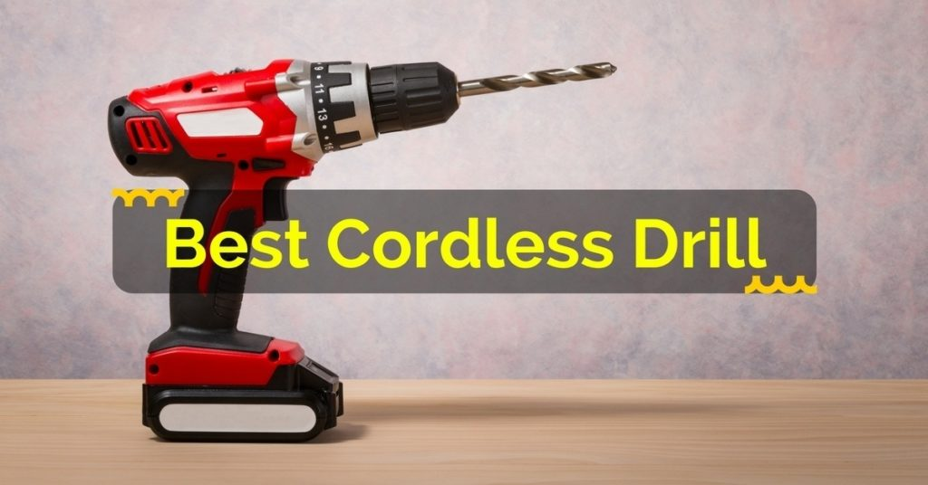 Right Cordless Drill