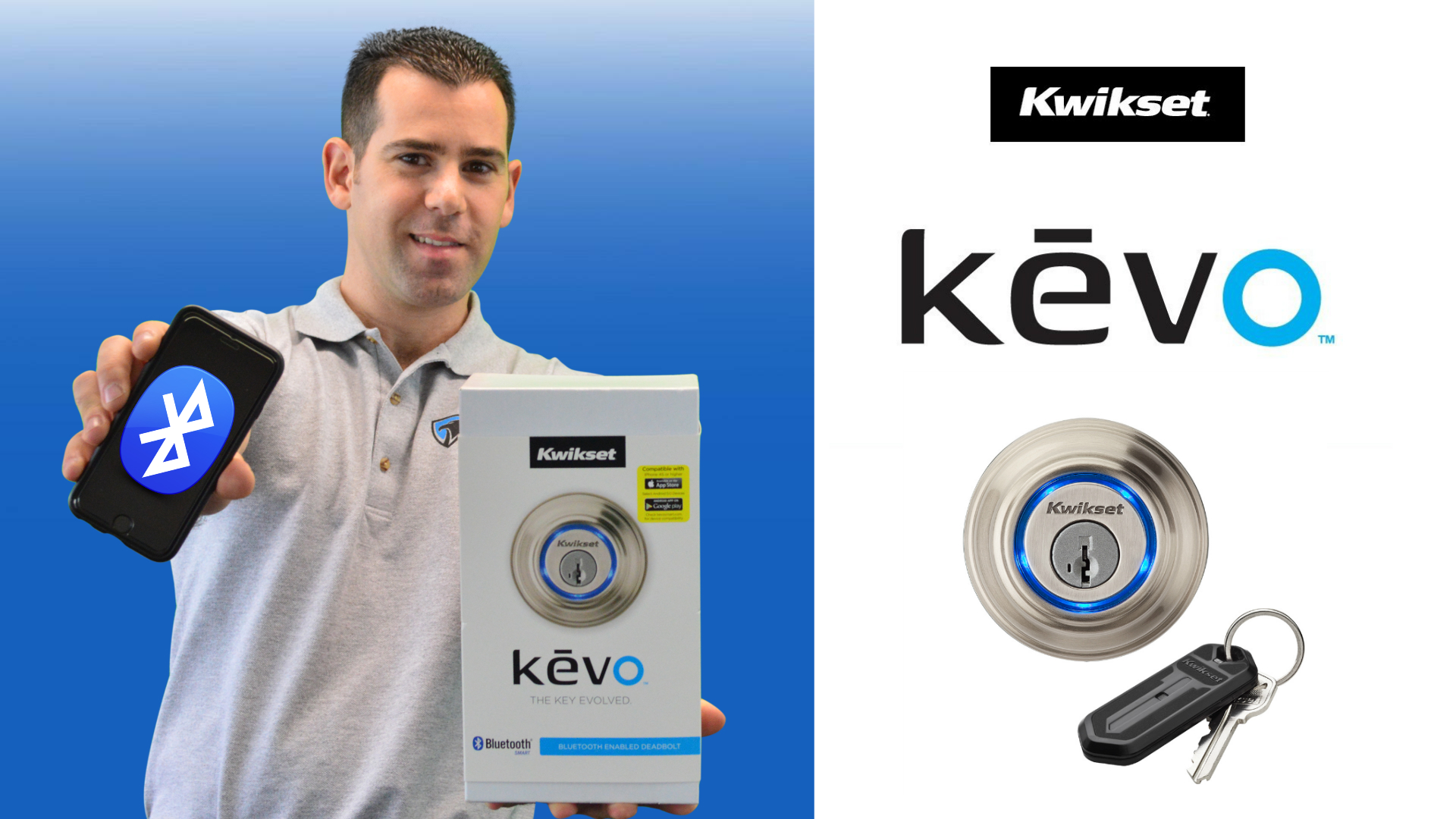 How To Install A Kwikset Kevo Deadbolt Lock